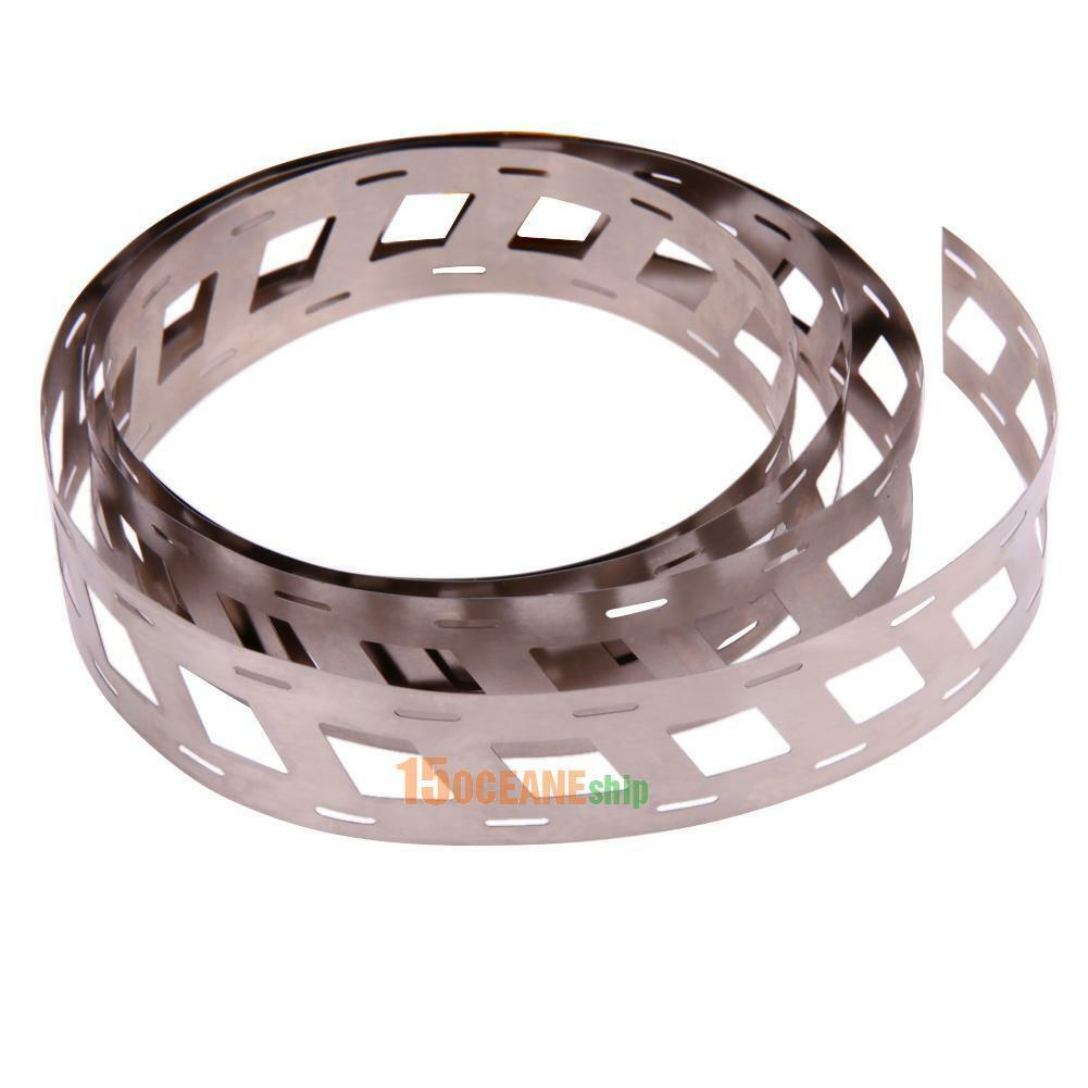 1M 0.15*23mm Pure Ni Battery Plate Nickel Strip Tape for 18650 Battery Welding