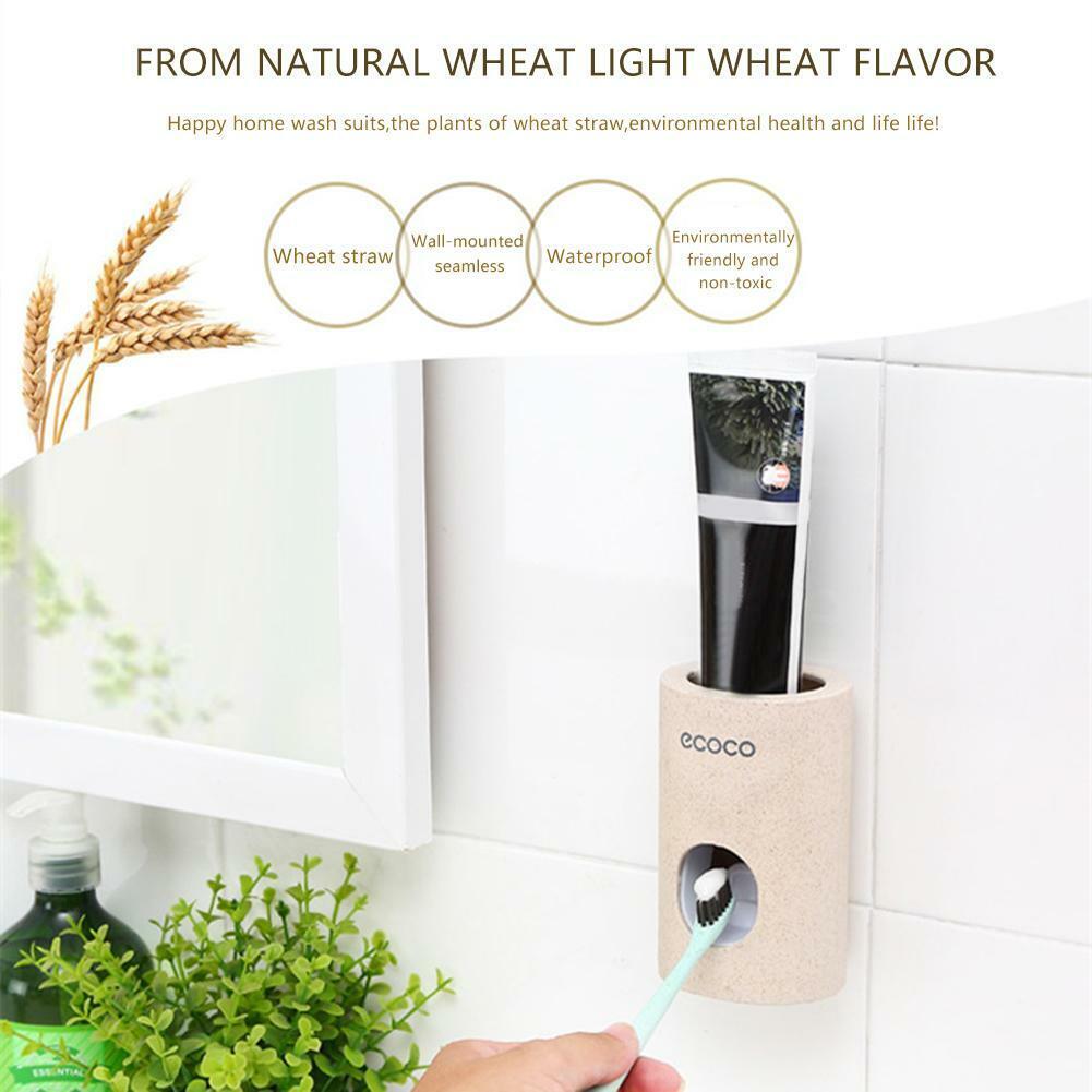 ECOCO Automatic Toothpaste Dispenser Dust-proof Toothpaste Squeezer