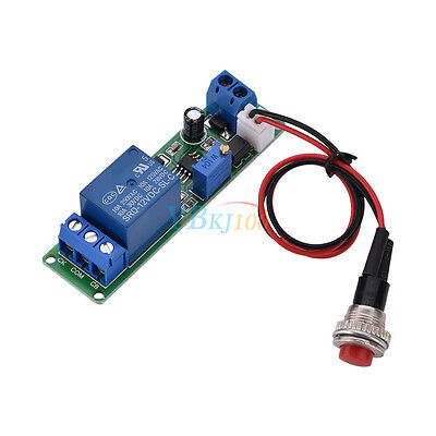 Adjustable Delay Turn Off Switch Timing Timer Time Relay Module 110s 12v Dc Zhn