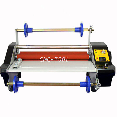 Fm360t Hotcold Continuously Variable Roll Laminating Machine W 4x Rollers 110v