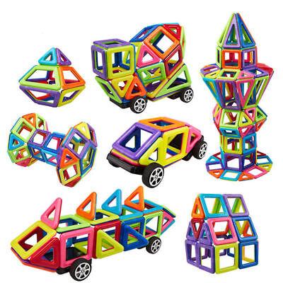Building Block Toys (76 Piece Magnetic Tiles magnetic Building Blocks Toys for Kids Educational)