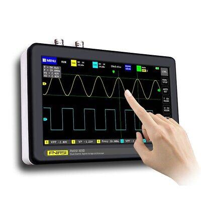 1gb 7 Inch Touch Screen 2-channel Digital Oscilloscopes 100mhz Bandwidth 1gss