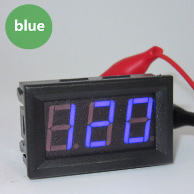 Ac 70-500v Digital Voltmeter Led Display 2 Wire Volt Voltage Test Meter Hot
