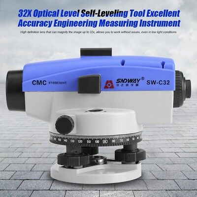 32x Optical Self-leveling Tool Excellent Accuracy Engineering Measure Instrument