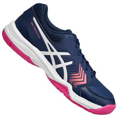 ASICS Gel-Dedicate 5 Damen Tennisschuhe Sport Fitness Schuhe E757Y-4901 blau neu
