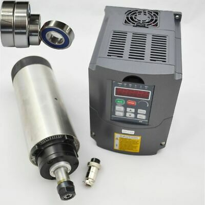 1.5kw Er16 Air-cooled Spindle Motor With Hy 1.5kw Inverter Drive Vfd For Cnc