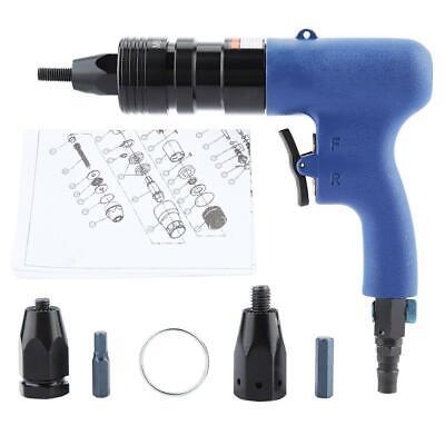 Pneumatic Rivet Nut Gun Rivnut Setting Gun Riveter Air Riveting Tool M8-m10