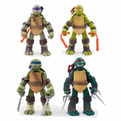Geschenk Kinder TMNT Teenage Mutant Ninja Turtles Lot 4 Action Figur Figuren