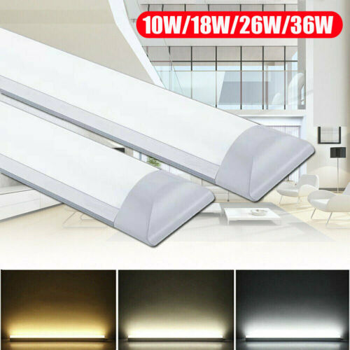 1FT/2FT/3FT/4FT Premium LED Batten Linear Tube Light Ceiling Surface Mount Lamp Chandeliers & Ceiling Fixtures
