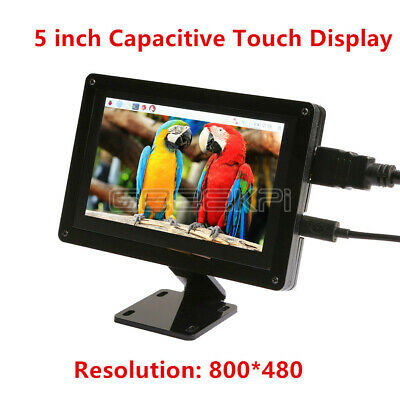 5 Inch Raspberry Pi 800*480 Capacitive Touch Screen LCD Display +Acrylic