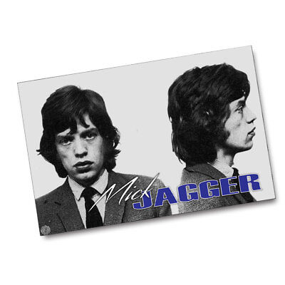 The Rolling Stones A Young Mick Jagger Wanted Poster 11x17 Poster