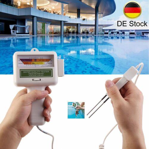 Pool Elektronischer Wassertester Wassertest Messgerät Chlor PH/CL2 Wert Test TD