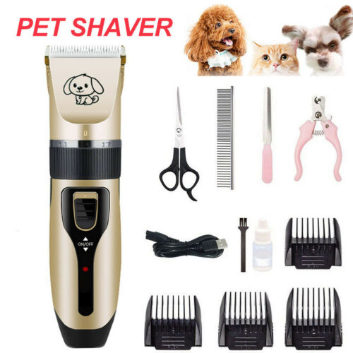 Pet Professional Dog Grooming Clippers Kit For Dog Cat Hair Trimmer Groomer Set