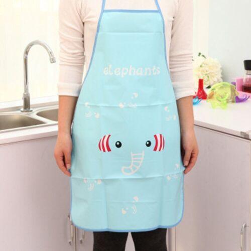 Waterproof Women Cartoon Apron Kitchen Restaurant Cooking Cxz MjPeM