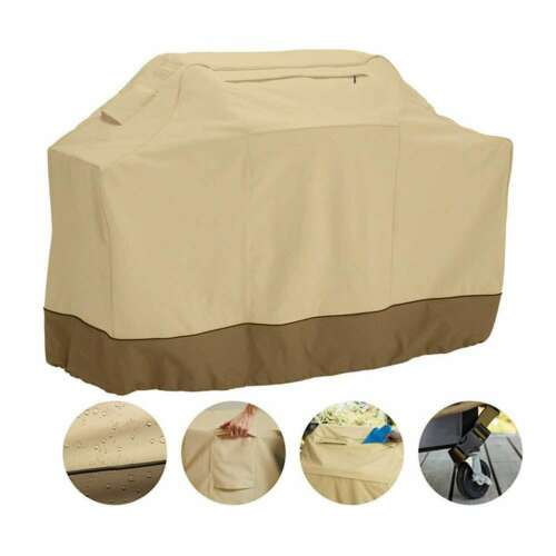 BBQ Gas Grill Cover Heavy Duty Barbecue Waterproof Outdoor P