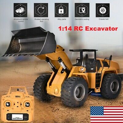 HUINA 583 2.4G 1:14 RC Electric Truck RC Model Excavator Engineering Vehicle US