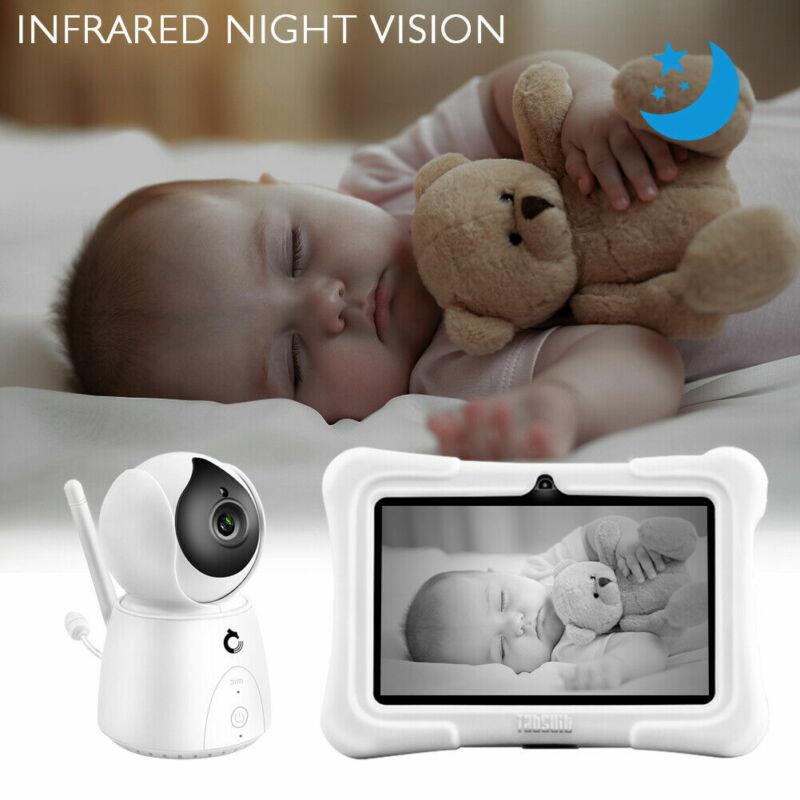2.4GHz Wireless Baby Monitor Camera Digital LCD Night Vision Video Refurbished