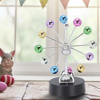 Kinetic Orbital Revolving Ball Perpetual Motion Desk Art Toy Office Decor Gift