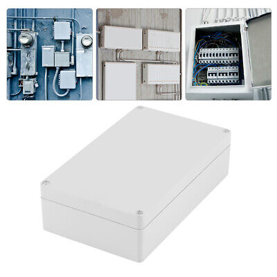 Plastic Waterproof Electrical Project Junction Box 200x120x56mm Enclosure -