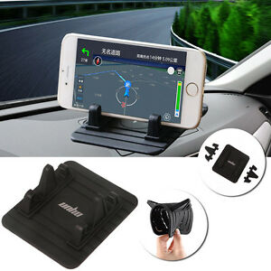 Car Dashboard Mount Holder Non-Slip Silicone Gel Pad Dash Mat for Phone GPS BT