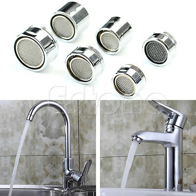 Male Faucet Aerator (Kitchen Faucet Tap Water Saving Aerator Chrome Male/Female Nozzle Sprayer)