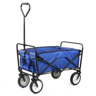 Beach Trolley Collapsible Camping Cart Multipurpose Foldable