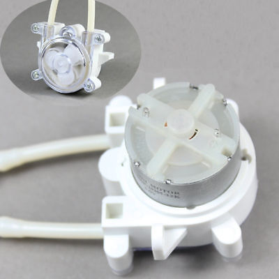 Dc 6v Dosing Pump Peristaltic Head For Water Aquarium Chemical Lab Analytical