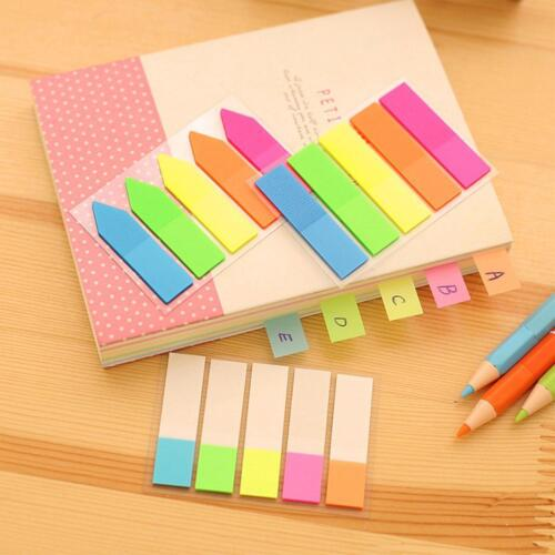 2X Leaf Sticky Notes Memo Pad Self-Adhesive Sticky Notes Bookmark Stationery HQY
