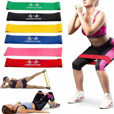 Ebene Widerstand Bands (Widerstand Schleife Bands Übung Yoga Fitness Trainieren Ausbildung 6 Ebene)