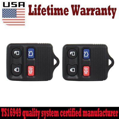 2+ remote keyless Remote Key Fob for Ford Excursion Mustang Taurus MERCURY Sable