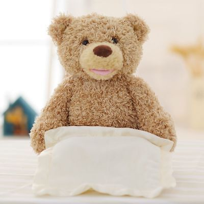Peek A Boo Teddy Bear Toddler Kids ChildrenPlay Plush Blanket Don't buy bargains