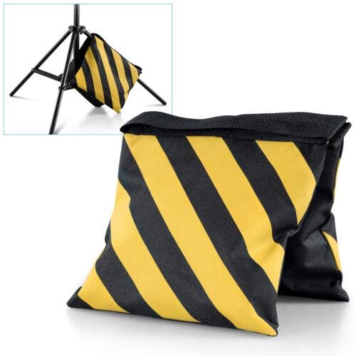 Black Yellow Heavy Duty Sand Bag Photography Studio Video Light Stand Sandbag
