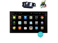 Android 5.1 2 Din Car Stereo Radio 7 Inch Capacitive Touchscreen