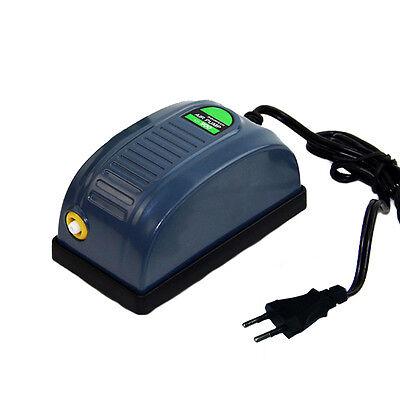 Adjustable Aquarium Fish Tank Air Pump Aerator Oxygen  Super Silent EU plug