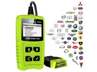 JDiag OBD Car Engine Code Diagnostic Tool with Battery Test