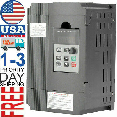 3hp 8a 1.5kw 220v Variable Frequency Drive Inverter Vfd Single To 3 Phase
