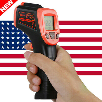 Industrial Digital Thermometer Laser Infrared Temperature Gun Lcd Non-contact
