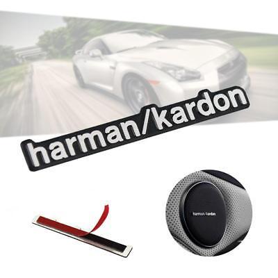 5X Auto Car Harman Kardon Audio Speaker Decalques Emblema Adesivo Para BMW Benz