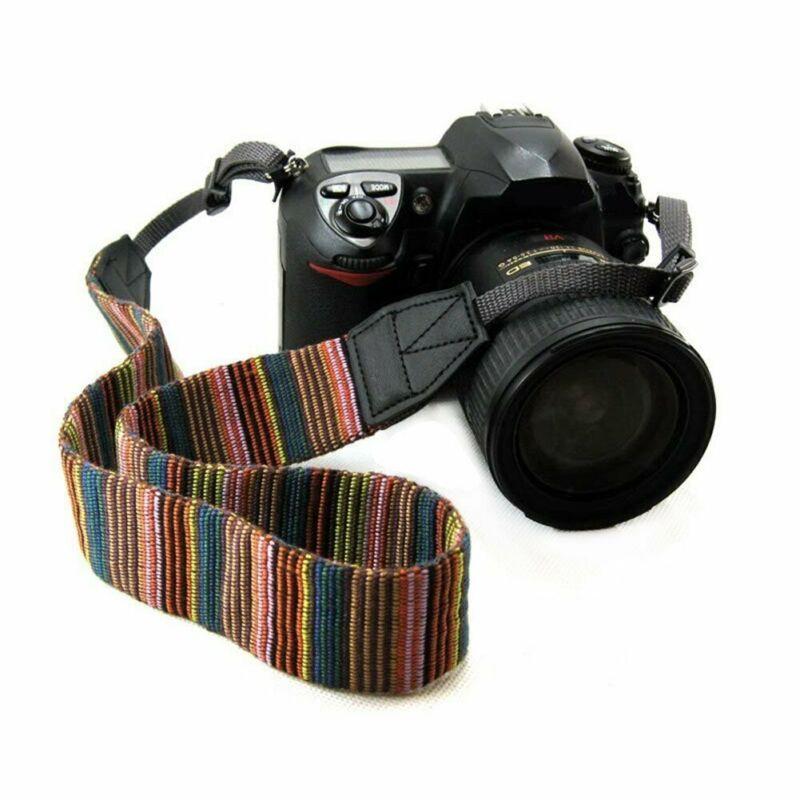 Vintage Shoulder Sling Belt Neck Strap for Camera SLR/DSLR Nikon Canon Sony