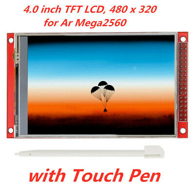 Red 4.0 Inch Tft Lcd Touch Screen Display Module 480x320 For Arduino Mega2560
