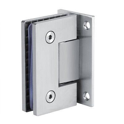 Edelstahl Duschkabine Glasscharnier Rahmenlose Halterung Türscharnier Beschlag Rahmenlose Dusche Tür Scharnier