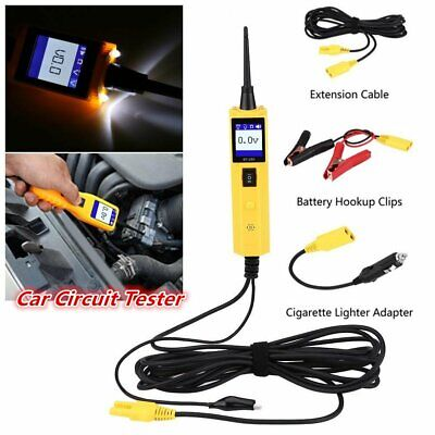 Us Car Circuit Tester Electrical Battery Power Probe Diagnostic Tool 12v 24v