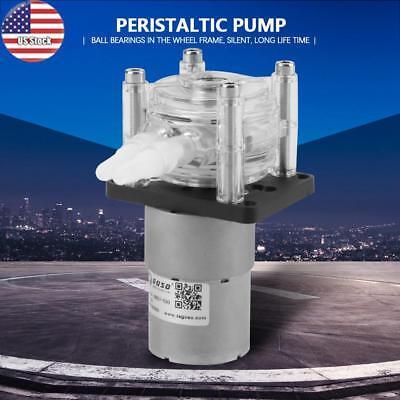 Dc12v Large Flow Peristaltic Pump Tube Vacuum Pump Strong Suction Pump Us Stock