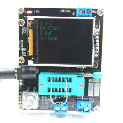 Gm328a Pwm Lcd Display Diode Capacitance Transistor Tester Esr Square Signal