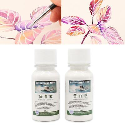 Artists Art Masking Fluid for Watercolour Painting / Drawing Gum - 18/75 ml (Best Masking Fluid For Watercolor)