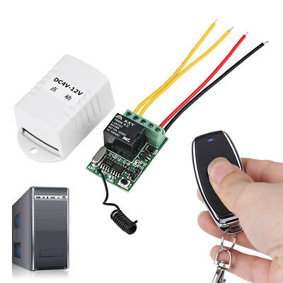 4v 5v 6v 7.4v 9v 12v Relay Dc On-off Wireless Remote Control Switchtransmitter