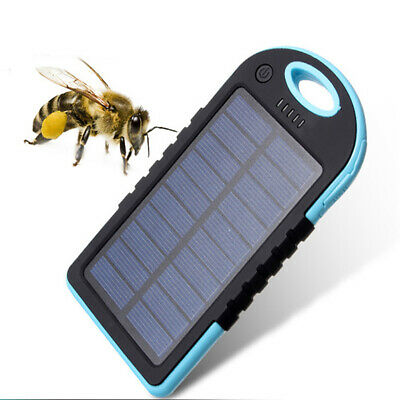 Portable Solar Power Panel (Waterproof Portable Solar Panel Charge For Power Bank Battery Box Dual USB Ports)