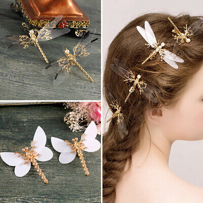 Fairy Butterfly Hairpin Women Party Barrettes Cute Theme Party Girls Hair Clip - 20s Themed Wedding