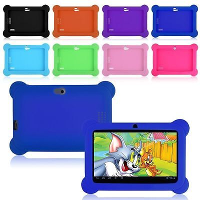 Tablet Soft Rubber Case Silicone Protective Cover For 7 inch kids tablet Y88