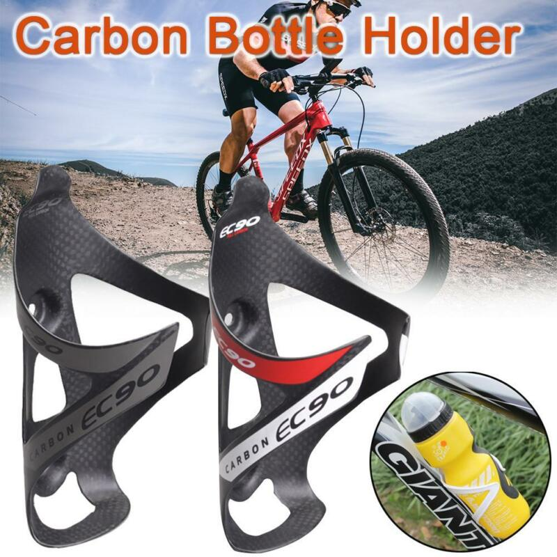 Carbon Fiber Bicycle Water Bottle Cage Holder Rack Cage For MTB Road Bike Riding